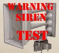 Siren Test