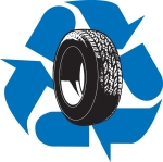 tire recycling logo