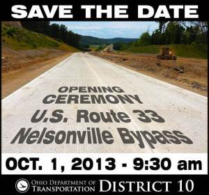US33 Opening Save the Date