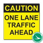 ODOT one lane