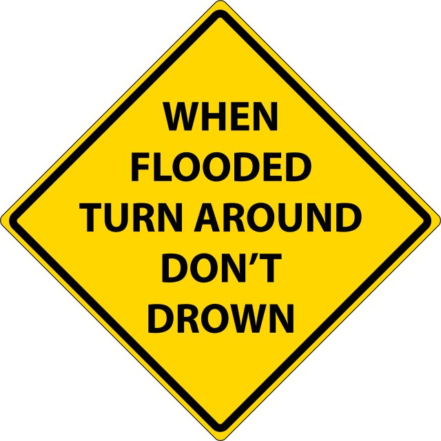 turnDrownWarningSign